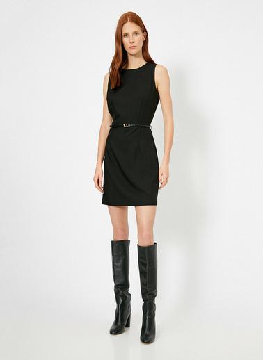 Koton Kolsuz Elbise Siyah